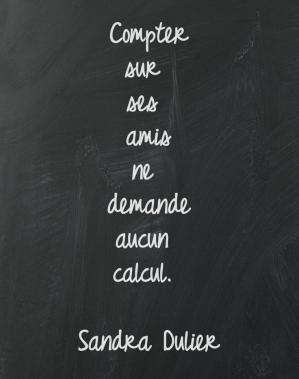 Calcul #amitié #citation #rentrée