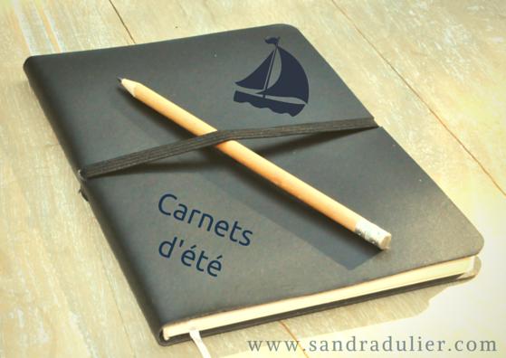 Carnets d'été de Sandra Dulier (poésie)