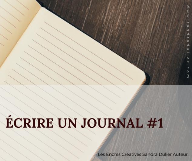 Ecrire un journal 1