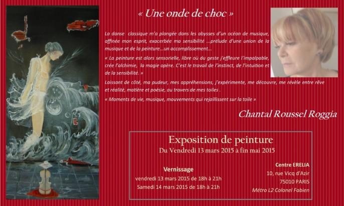 Exposition mars mai 2015 Chantal Roussel Roggia
