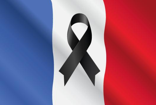 La France en deuil attentats Paris  13 novembre 2015