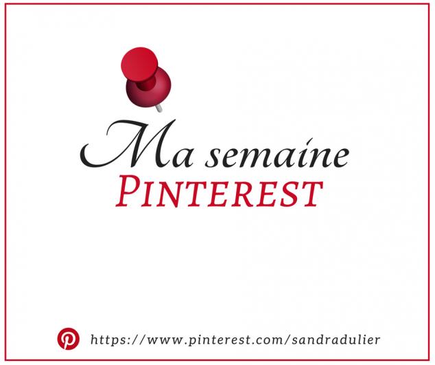 Lettres, concours, livres, Paris, printemps... Voilà quelques inspirations à découvrir sur mon profil Pinterest cette semaine. Belle découverte ! http://www.sandradulier.com/blog/pinterest/semaine-pinterest-20.html