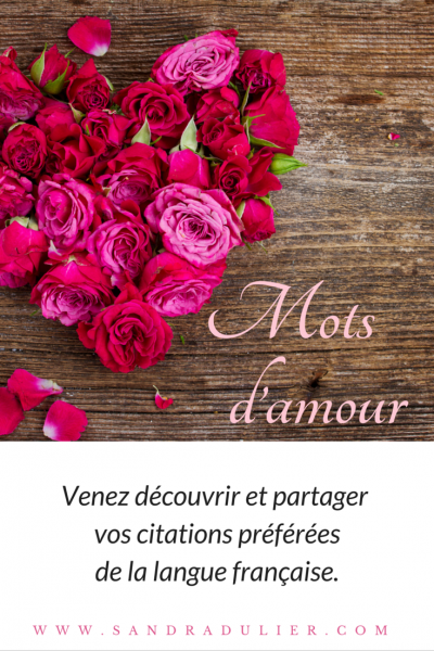 Mots d amour citation saint valentin