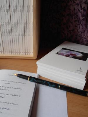 Livre Fleur de poésie, source de vie de Sandra Dulier