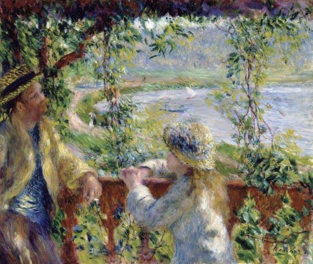 Pierre-Auguste Renoir - Près du lac- 1880