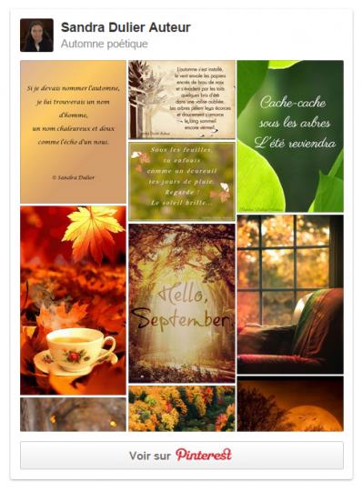 Pinterest automne