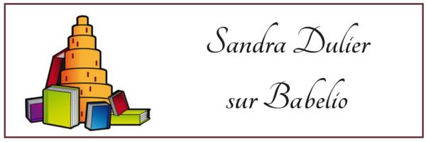 Sandra Dulier le profil auteur sur Babelio