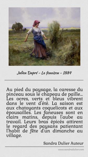 Sur la Fenaison de Julien Dupré