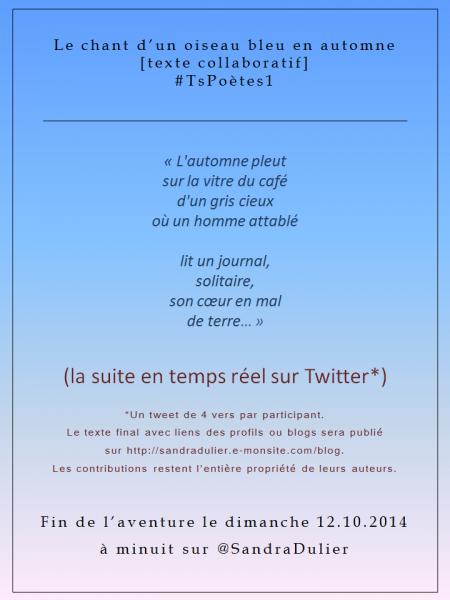 #TsPoètes1 via Twitter