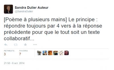#Tspoetes1 via Twitter
