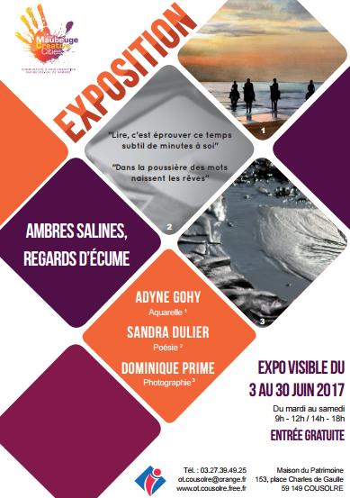 Affiche exposition cousolre juin 2017