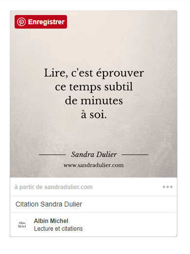 Albin michel citation sandra dulier 1