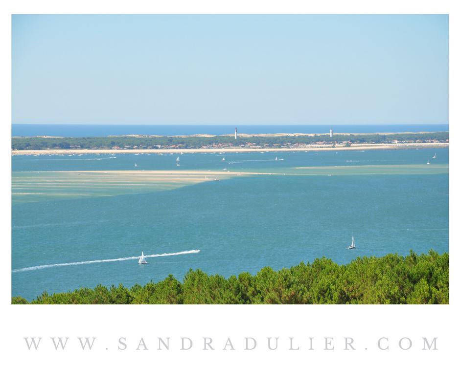 Arcachon vue depuis la dune du pilat