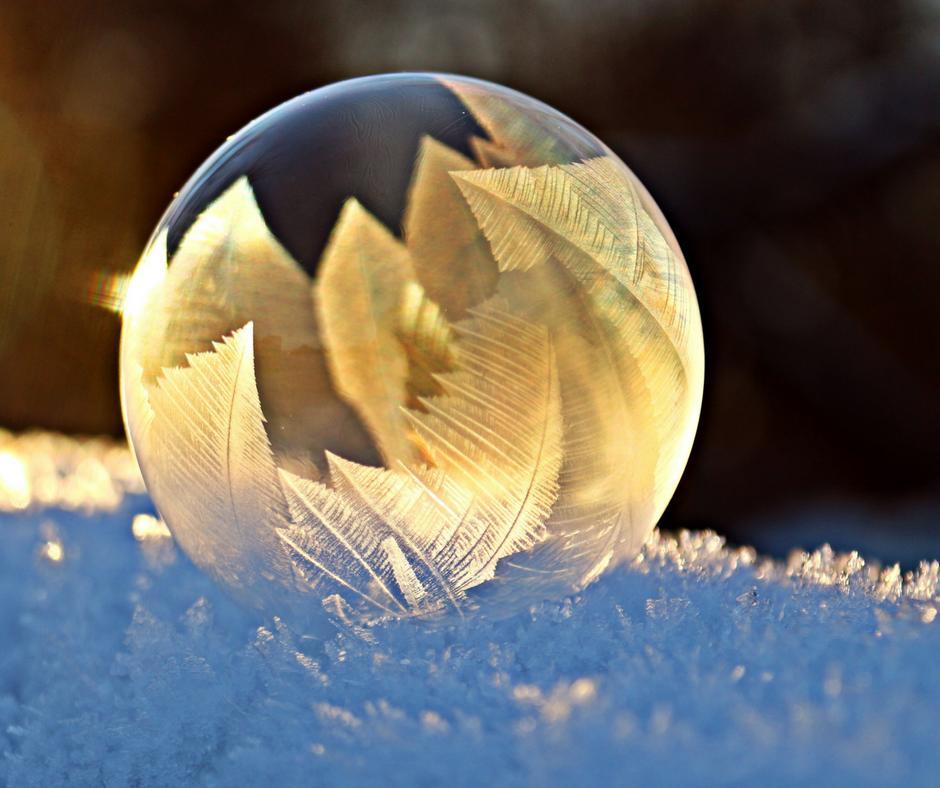 #bulle #savon #givre #hiver #poésie #fêtes #Noël