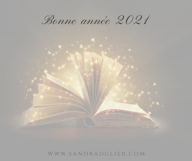 Carte bonne annee 2021