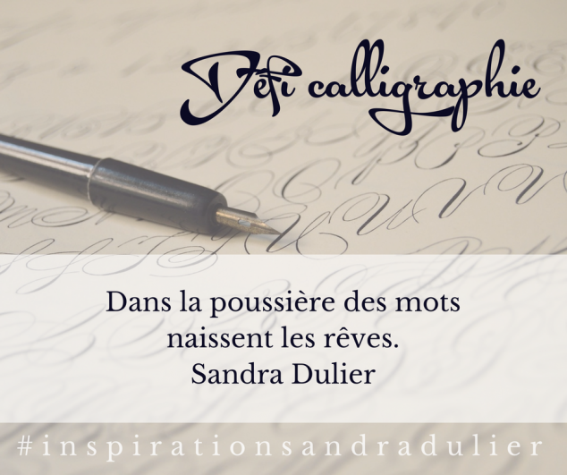 Defi calligraphie 1