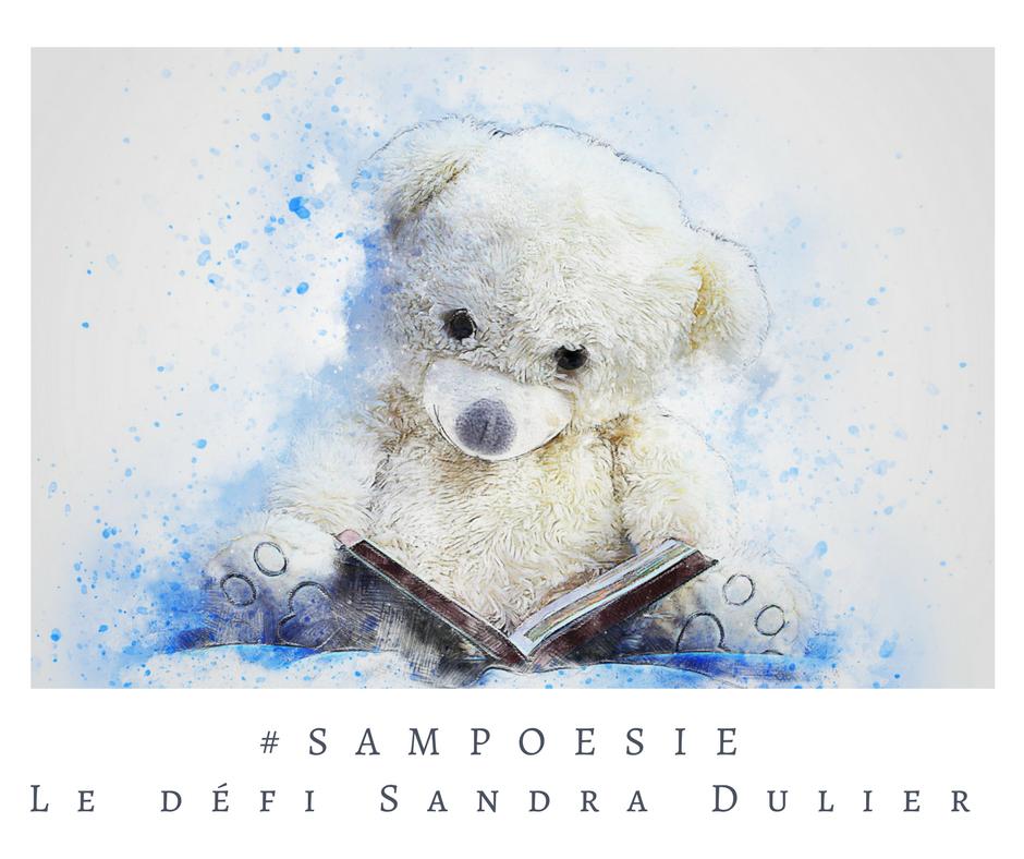 Que vous inspire cette photo ? A vos poèmes #Sampoésie. #inspiration #ourson #livre #enfance #tendresse #douceur #écrire #poésie.