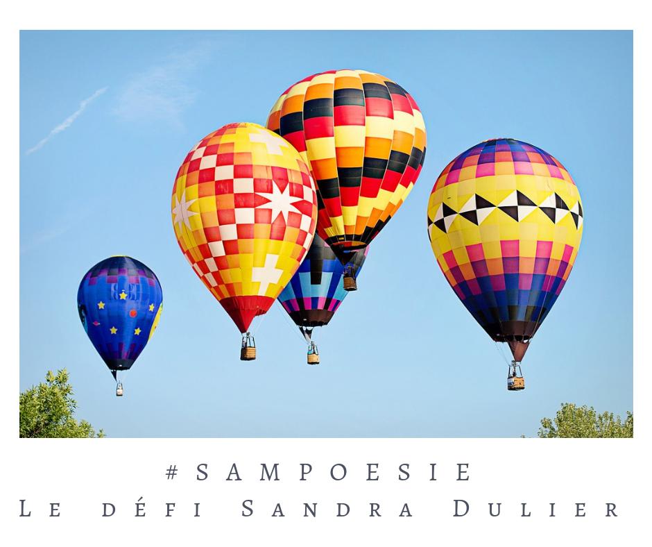Que vous inspire cette photo ? poésie, photo, été, ballon, montgolfière, ciel, liberté, voyage
