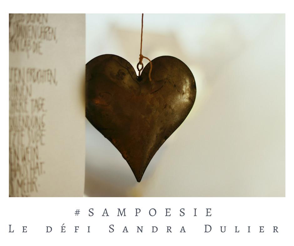 Que vous inspire cette photo ? A vos poèmes #Sampoésie. #coeur #chocolat #brun #poésie
