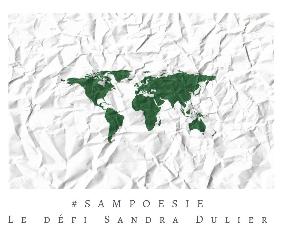 Que vous inspire cette photo ? Monde, papier froissé, blanc, vert, carte, atlas