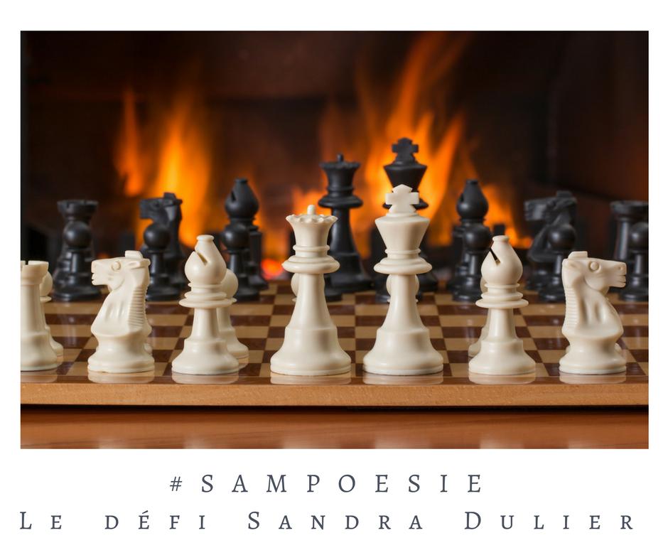 Que vous inspire cette photo ? A vos poèmes #Sampoésie. #inspiration  #feu #échecs #hiver #écrire #poésie.