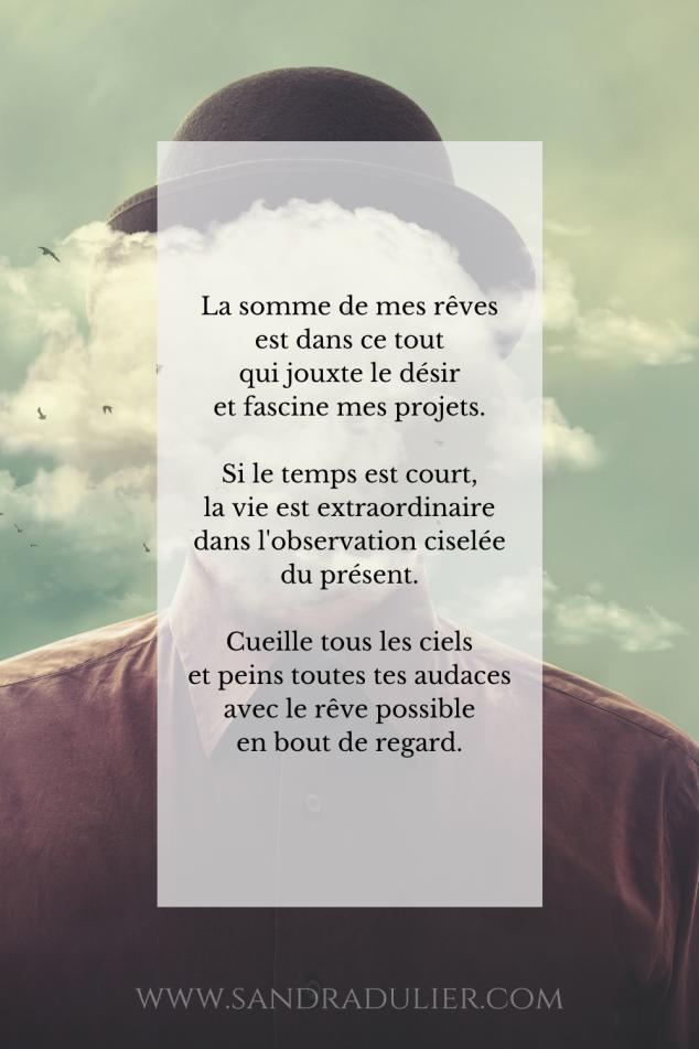 Homme nuage surrealisme