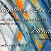 Invitation liliane magotte mars 2017