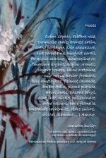 Poème Noces de Sandra Dulier sur Floréale de Liliane Magotte