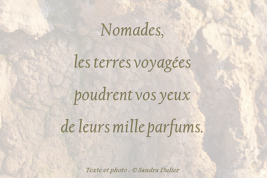 Nomades Citation Sandra Dulier
