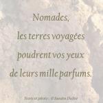 Nomades Citation Sandra Dulier