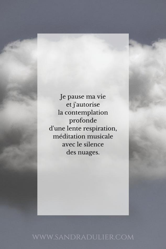 Pause nuage