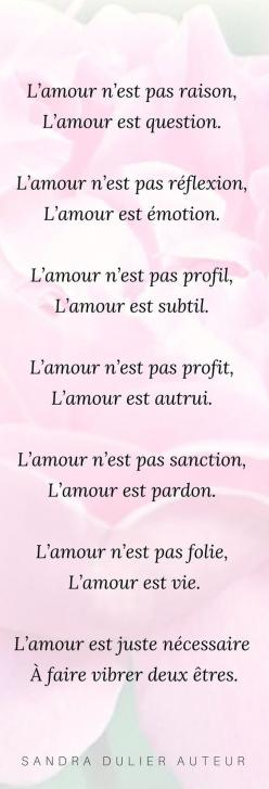 Poeme amour pinterest