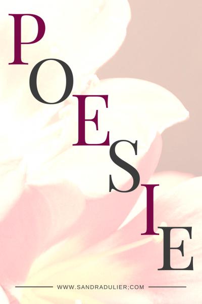 Poesie lettres 1