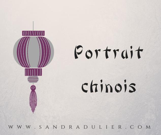 Portrait chinois et poésie : un mot et 5 lignes de micro-poésie.