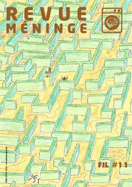Revue Méninge sur le thème du fil. #revue #poésie #édition #librairies #sandradulier #Paris #Manosque #Vannes #Montpellier