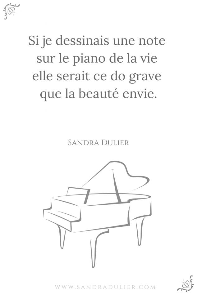 Si piano vie citation beauté