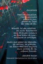 Poème Sorcellerie de Sandra Dulier sur Prairial de Liliane Magotte